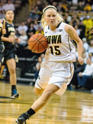 Iowa sophomore Whitney Jennings led all Hawkeye scorer's with 16 points in Tuesday's 91-47 victory over A.s.d. Pallacanestro Muggia in Trieste, Italy.