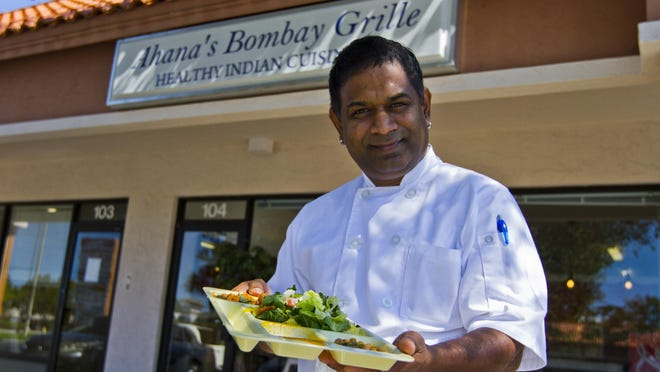 Nitin Jadhav, owner of Ahana's Bombay Grille, opened his Bonita Springs restaurant in mid-September.