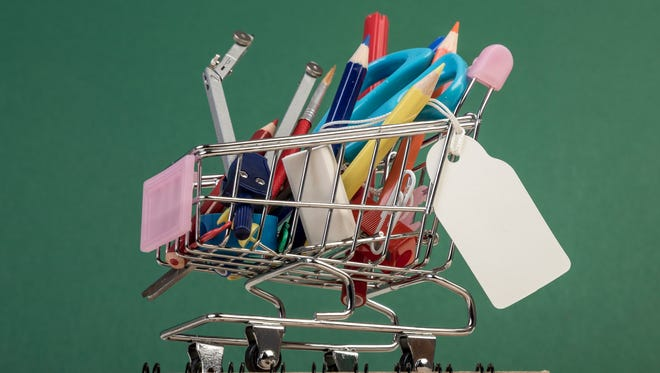 Parents plan on spending an average of over $900 on back-to-school items.
