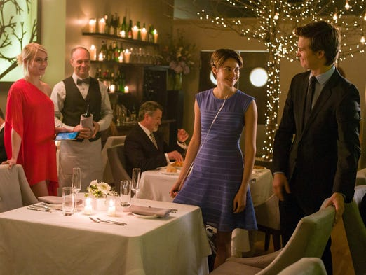 "Ansel Elgort, right, and Shailene Woodley portray Indianapolis teenagers visiting an upscale Amsterdam restaurant in ""The Fault in Our Stars"" -- the film adaptation of John Green's best-selling novel."
