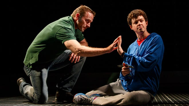 """The Curious Incident of the Dog in the Night-Time"" will play at the Des Moines Civic Center May 16-21."