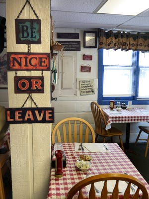 Glenda's Cafe in Okauchee offers a comfortable, quaint atmosphere for guests.