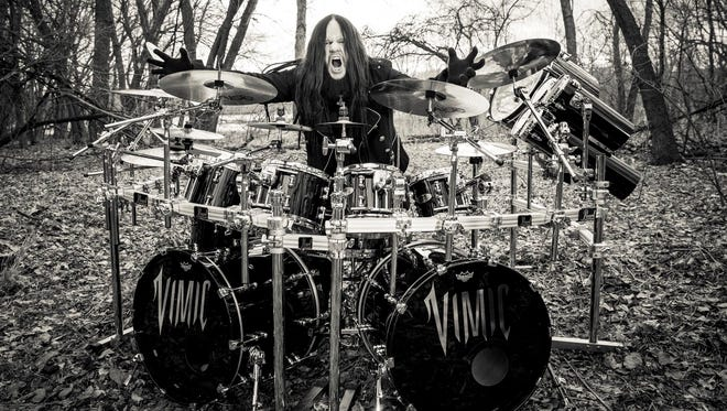 Joey Jordison plans to debut his new band, VIMIC, at Wooly's on Dec. 26.