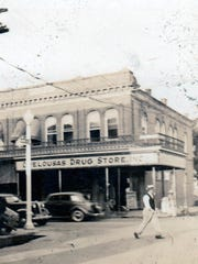 A shot of Main at Landry  in the 1930s.