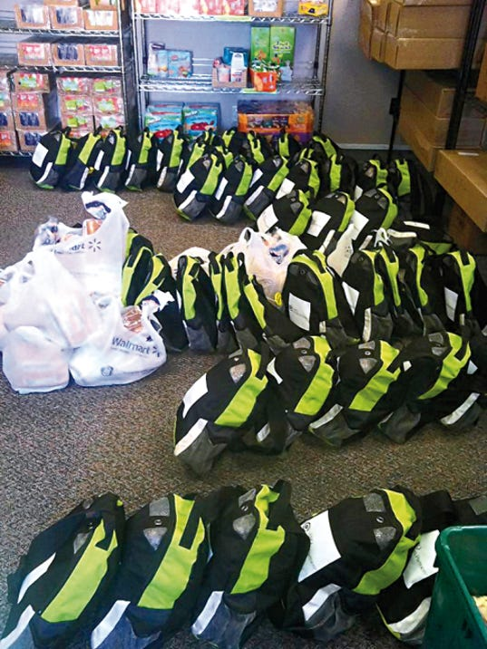 The Food 4 Kids Backpack Program has furnished 14,100 backpacks so far this year for children in Capitan, Hondo and Ruidoso schools.