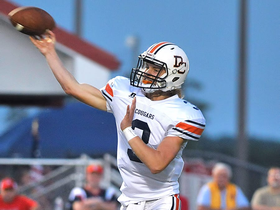 Dickson County quarterback Jacob Murphree passed for 2,668 yards and 27 touchdowns last season.