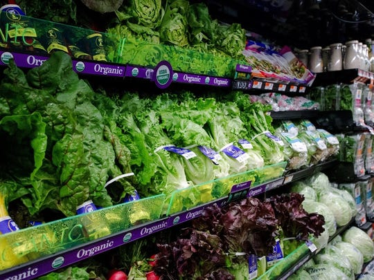 Look for the aisle with leafy greens, and make sure they look fresh and vibrant, like the veggies from this ACME.
