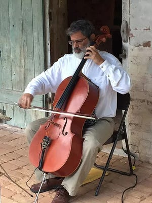 Cellist Paul Christopher.