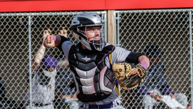 Oconomowoc catcher Hunter Olson has helped the Raccoons claim the No. 5 spot in the area  rankings.