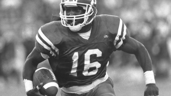 Louisiana Tech wide receiver Troy Edwards was the top wide receiver in the country in 1998.