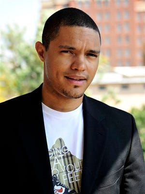 "In this photo taken Oct. 27 2009 South African comedian Trevor Noah is photographed during an interview. Trevor Noah, a 31-year-old comedian from South Africa who has contributed to ""The Daily Show"" a handful of times during the past year, will become Jon Stewart's replacement as host, Comedy Central announced Monday."