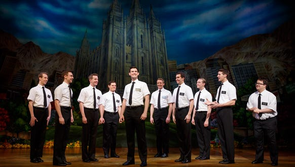 The Book of Mormon at the Washington Pavilion May 3-7.
