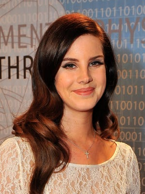Lana Del Ray performed for Kim and Kanye on Friday night.