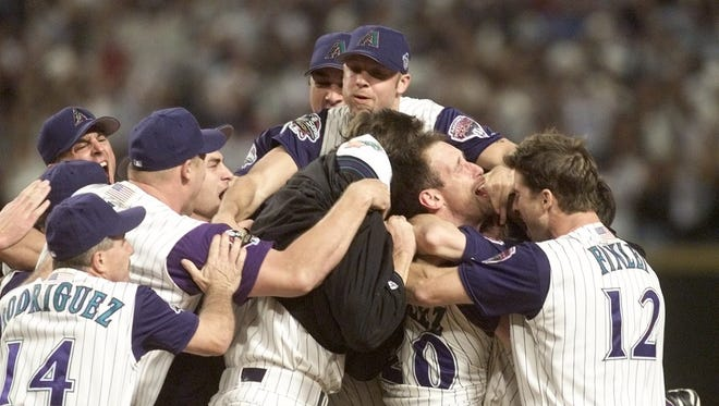 The Diamondbacks won the 2001 World Series over the Yankees in Game 7 in Phoenix.