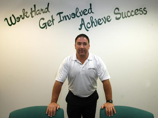 Tosa West principal Frank Calarco is also a Wauwatosa
