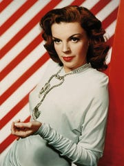 -  Judy Garland, seen in 1945, was one of Tony Bennett's