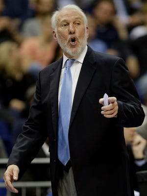 Gregg Popovich and the San Antonio Spurs hoping to repeat this season.