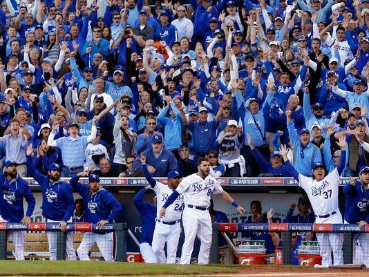 World Series Royals Love Affair Baseball