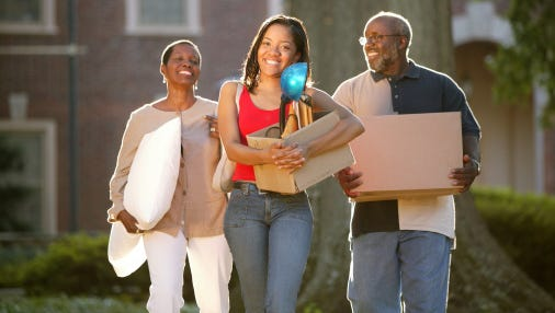 The transition from high school to college can be as much of an adjustment for parents as it is for their children.
