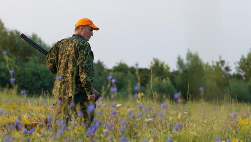 Male hunter