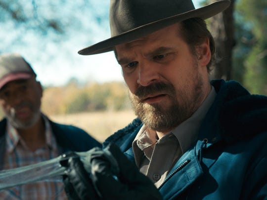 Hawkins Police Chief Jim Hopper, played by David Harbour.