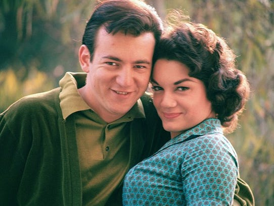 Connie Francis with the lost love of her life, Bobby
