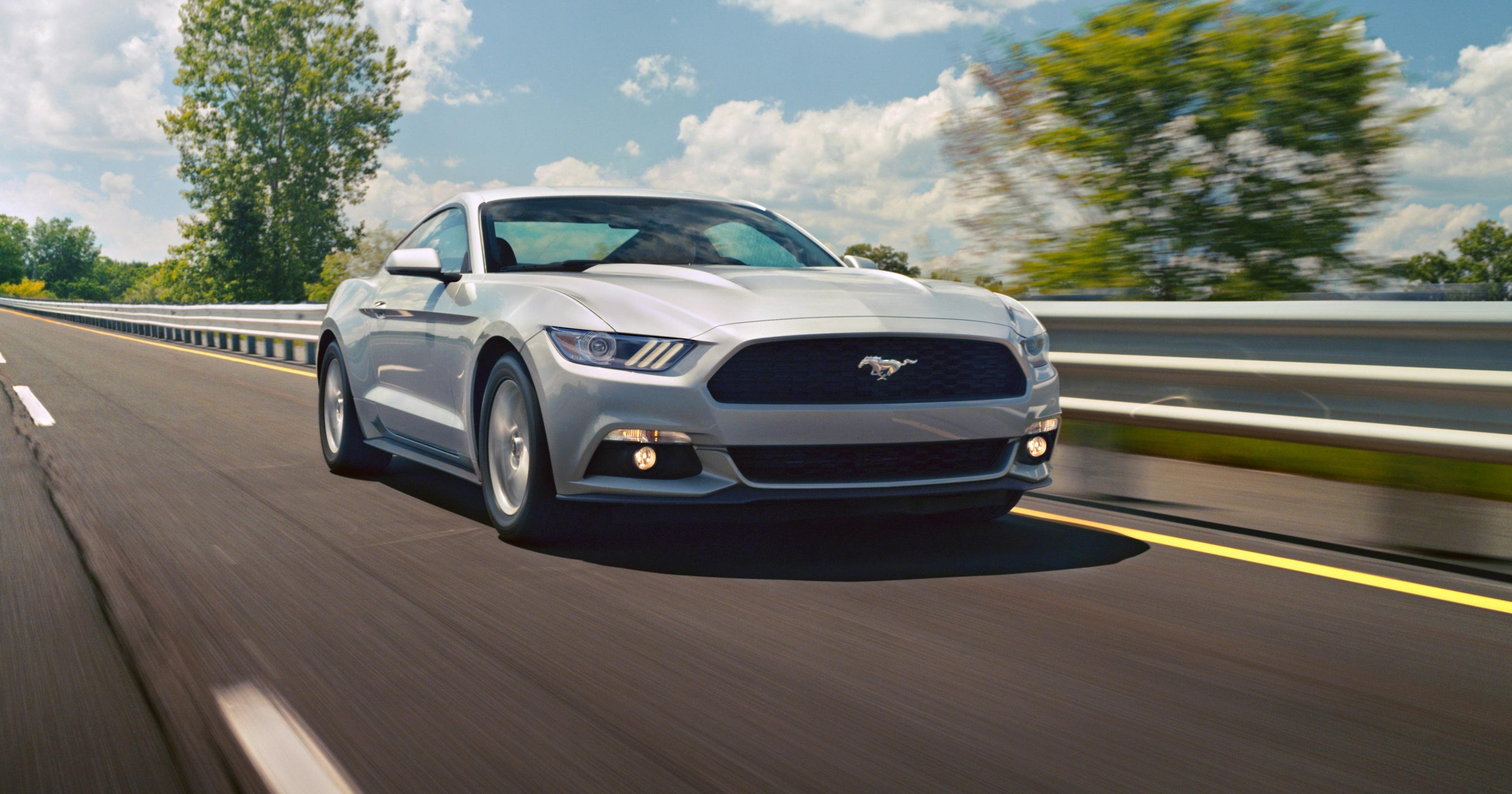 Fords mustang pulls ahead in sales race