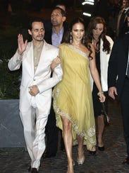 Remini, husband Angelo Pagan and friends Jennifer Lopez