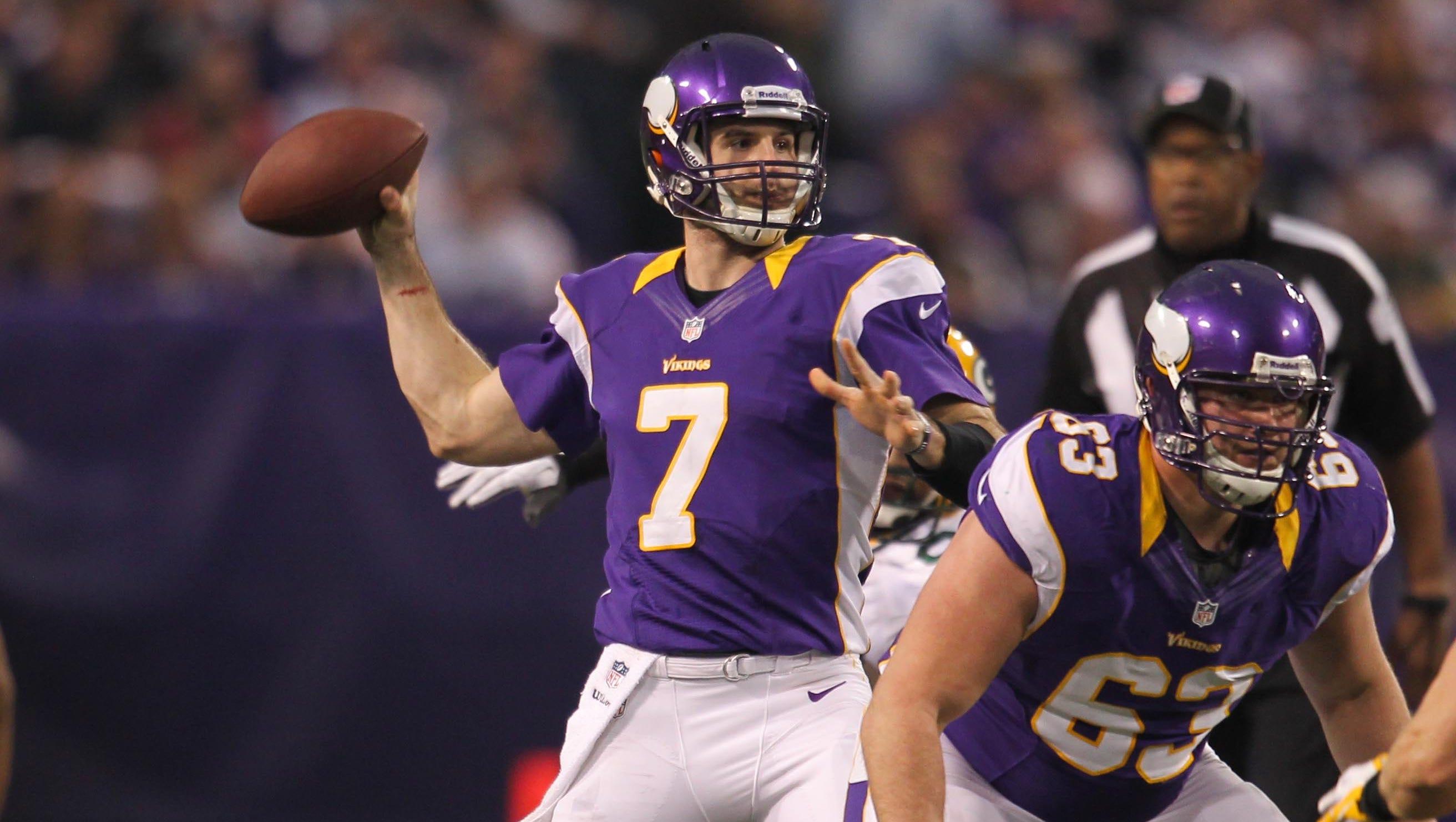 27. Christian Ponder, Minnesota Vikings