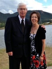 Paul and Kathy Kalmoe of Johnston, today.