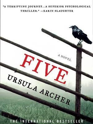 """This book cover image provided by Minotaur shows """"Five,"""" by Ursula Archer. The novel has a twisting, yet believable plot. (AP Photo/Minotaur)"""