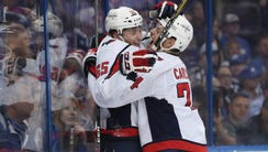 Washington Capitals left wing Andre Burakovsky (65)