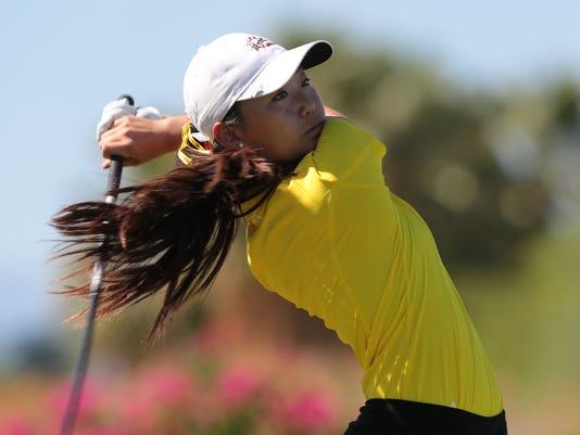 Jiyoon Jang, Palm Desert High School golfer