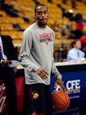 Louisville guard Kevin Ware became a March Madness star and now tries to revive his career at Georgia State.