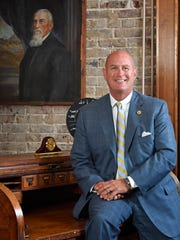 Cumberland University, along with the USA TODAY NETWORK - Tennessee, Nashville Public Television and the League of Women Voters of Tennessee is hosting a U.S. Senate debate on Sept. 25. Cumberland University President Paul Stumb is seen here in a 2017 file photo.