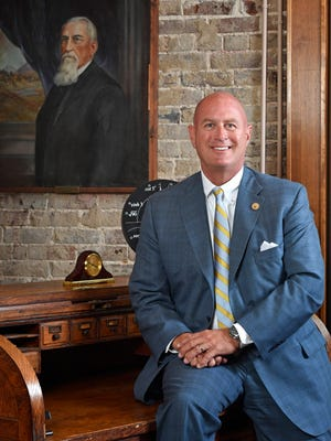 Cumberland University has seen enrollment jump by 50 percent in five years, a figure that many attribute to the choice to accept Tennessee Promise students and the leadership of President Paul Stumb