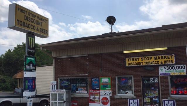 Nashville police on Thursday arrested Ashraf Ibrahem, owner of First Stop Market, for allegedly selling stolen merchandise.