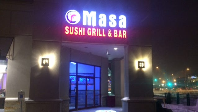 Masa Sushi is Wausau's newest restaurant, opening Tuesday, Jan. 10, 2017.