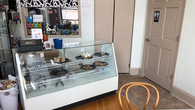 It took about six months for Heidi Reed to renovate a space in downtown Oconto for a bricks-and-mortar location for her Chocolate Cow Bakery.