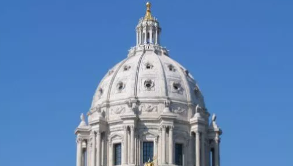The Capitol dome in St. Paul.