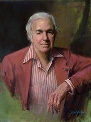 Nashville portrait artist Michael Shane Neal's painting