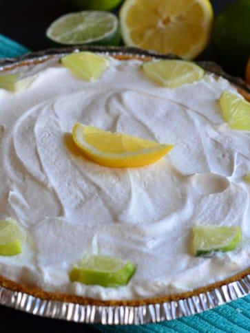 Citrus lovers should enjoy this lemon lime pie which