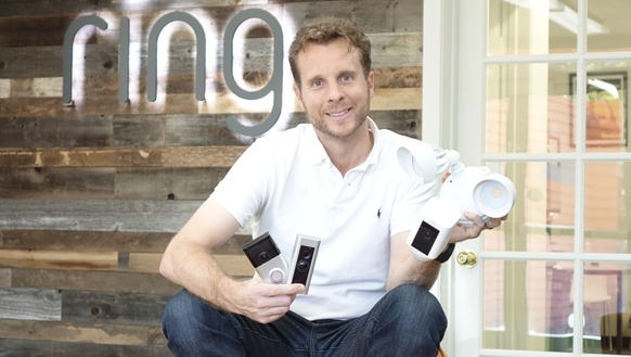 Ring founder Jamie Siminoff at Ring headquarters in