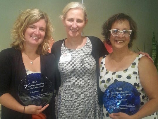 Emily Ollervides, Angela Carbetta, Marion County Recycling
