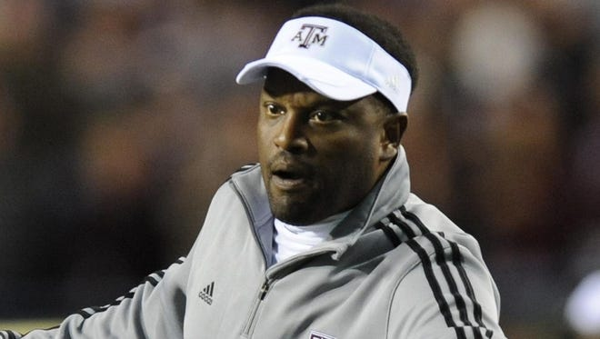 Kevin Sumlin slowed down Texas A&M's tempo against ULM last week.