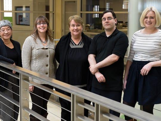 From left.  Jayne Higo, Shelby Schueller, Barb Modrack,