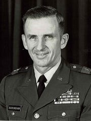 Maj. Gen. Clay Buckingham, a Vero Beach native, served in the Army from 1945 to 1982.