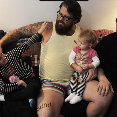 Jesse Lee, a 33-year-old stay-at-home father of four,