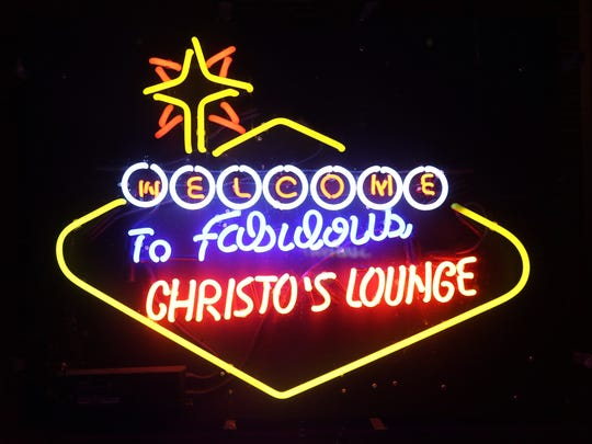 Christo's Lounge hosts live music and a colorful atmosphere to go along with Italian food from the pizzeria next door.