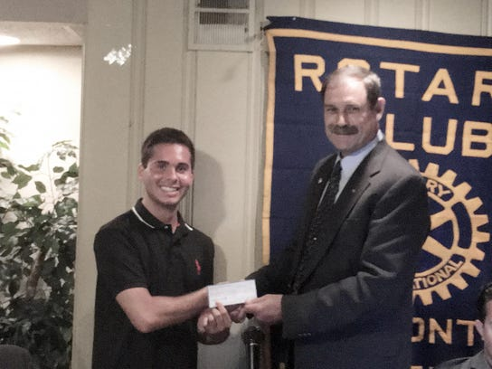 Hammonton Rotary Foundation Scholarship winner Dante